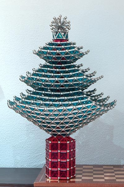GEOMAG constructions: Christmas tree, view 1