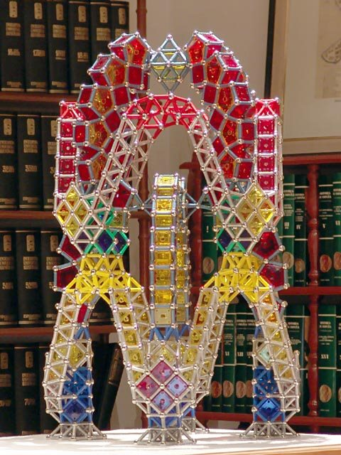 GEOMAG constructions: Two-level folly based upon chapel 2, side view 2