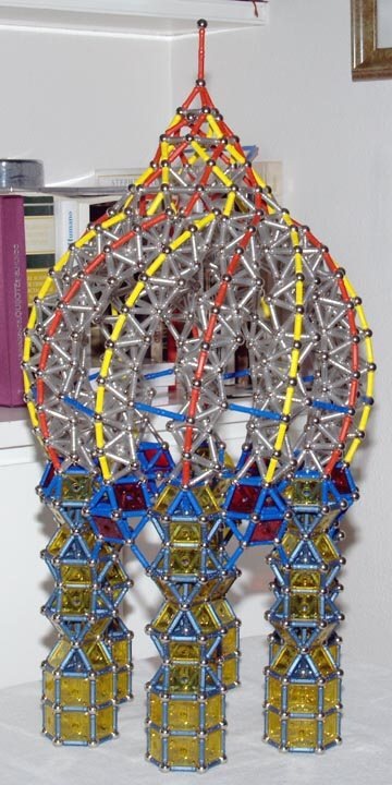 GEOMAG constructions: Chapel 5, side view