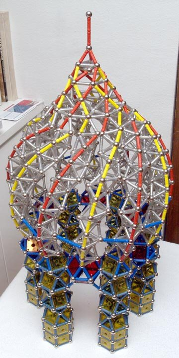 GEOMAG constructions: Chapel 5, top oblique view