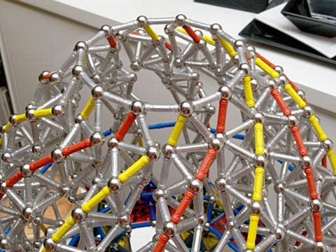 GEOMAG constructions: Chapel 5, building the dome