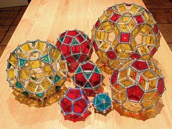 GEOMAG: sous-famille du dodécaèdre et de l'icosaèdre