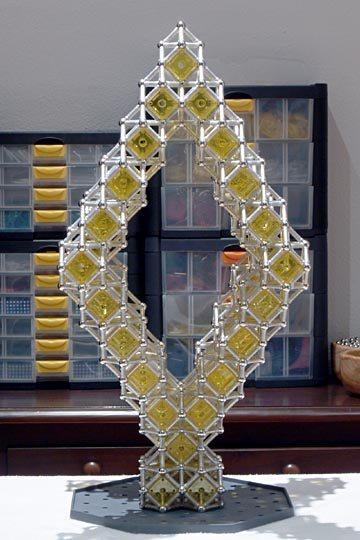 Construcciones con geomag estructuras con cuboctaedros - Ap construcciones ...