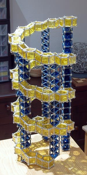 GEOMAG constructions: Helix 1, view 2