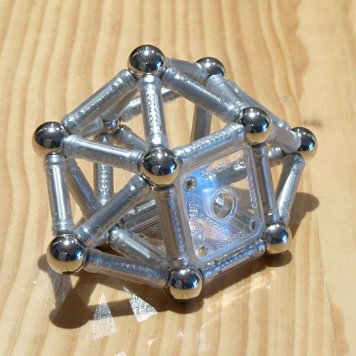 GEOMAG constructions: Sphenomegacorona, view 1