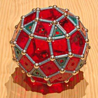 GEOMAG: Rhombicosidodécaèdre