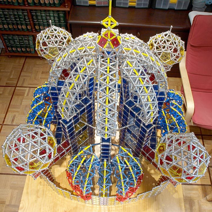 GEOMAG constructions: Suleiman the Magnificent Mosque, view 5